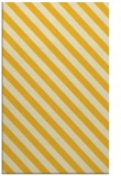 rug #488617 |  yellow stripes rug