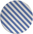 rug #488721   round blue stripes rug