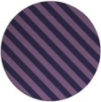 rug #488777 | round purple stripes rug