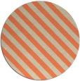 rug #488877 | round orange rug