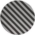 rug #488881 | round orange stripes rug