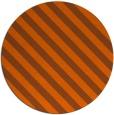 rug #488945   round red-orange stripes rug