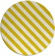 rug #488957 | round white stripes rug