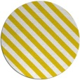 rug #488981   round yellow stripes rug
