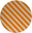 rug #488997 | round orange stripes rug