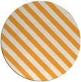 rug #489029   round light-orange stripes rug