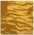 rug #489689 | square light-orange animal rug