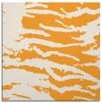 rug #489733 | square light-orange animal rug