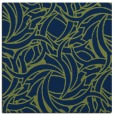rug #491181 | square blue abstract rug