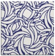 rug #491425 | square blue abstract rug