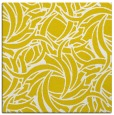 rug #491445 | square yellow abstract rug