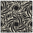 rug #491453   square black abstract rug