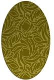 rug #491560 | oval abstract rug