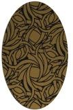 rug #491614   oval abstract rug