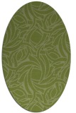 rug #491624 | oval abstract rug