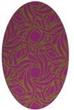 rug #491727   oval abstract rug