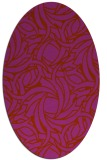 rug #491752 | oval abstract rug