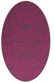 rug #491827   oval abstract rug