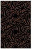 rug #491865 |  brown abstract rug