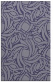 rug #491937 |  blue-violet natural rug