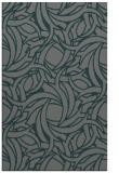 rug #491977 |  green abstract rug