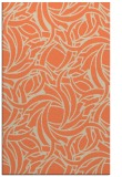 rug #492045 |  orange abstract rug