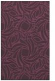 rug #492073 |  purple abstract rug