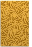 rug #492153 |  light-orange abstract rug