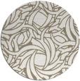 rug #492201   round white rug