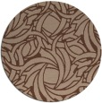 rug #492219 | round abstract rug