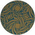 rug #492224 | round abstract rug