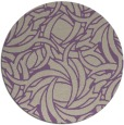 rug #492381 | round beige abstract rug