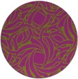 rug #492431 | round abstract rug
