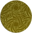 rug #492521 | round light-green abstract rug