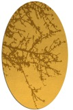 rug #493561 | oval light-orange popular rug