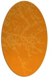 rug #493601 | oval light-orange popular rug