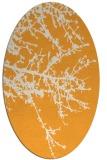 rug #493605 | oval light-orange popular rug