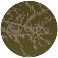 rug #494081 | round brown popular rug