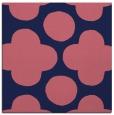 rug #496517 | square pink circles rug