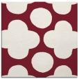 rug #496637 | square pink circles rug