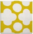 rug #496725 | square yellow circles rug