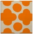 rug #496741   square orange circles rug