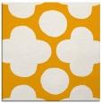 rug #496761 | square light-orange circles rug