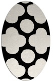 rug #496781 | oval graphic rug