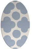 rug #496820 | oval circles rug
