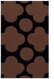 rug #497145 |  brown circles rug