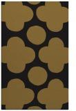 rug #497245 |  black circles rug