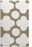 rug #497269 |  mid-brown circles rug