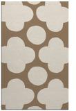 rug #497281 |  beige circles rug