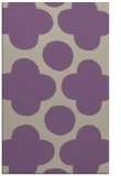 rug #497309    purple circles rug
